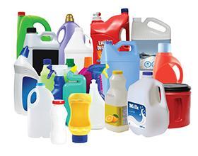 Plastic HDPE Bottles Jars - small